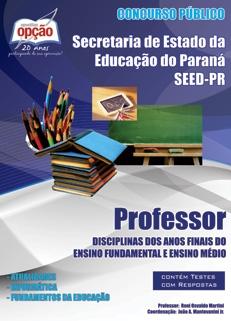 Secretaria de Estado da Educação do Paraná - SEED-PR-PROFESSOR