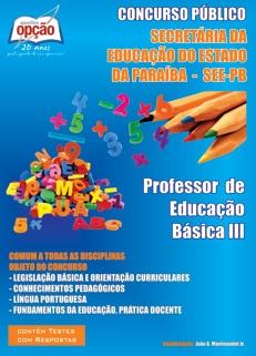 SEE-PB-PROFESSOR DE EDUCAÇÃO BÁSICA 3