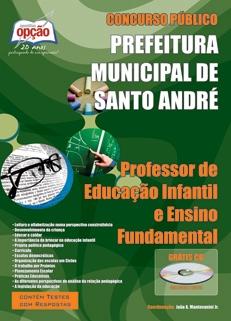 Prefeitura de Santo André / SP-PROFESSOR DE ENSINO INFANTIL E ENSINO FUNDAMENTAL