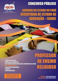 SEDUC-PA-PROFESSOR DE ENSINO RELIGIOSO-PROFESSOR DE EDUCAÇÃO ESPECIAL
