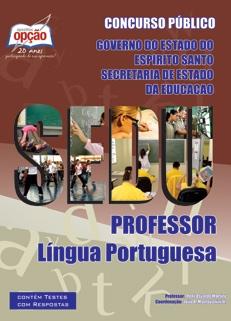 SEDU-ES-PROFESSOR DE LÍNGUA PORTUGUESA