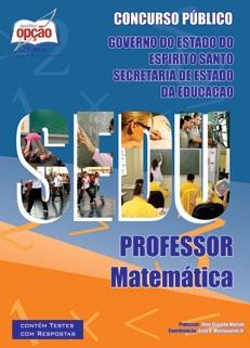 SEDU-ES-PROFESSOR DE MATEMÁTICA