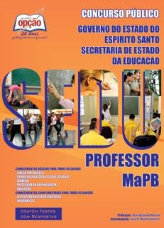 SEDU-ES-PROFESSOR MAPB-PROFESSOR DE MATEMÁTICA-PROFESSOR DE LÍNGUA PORTUGUESA