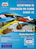 SEDUC / CE-PROFESSOR PLENO I - REFERÊNCIA I: DISCIPLINA - GEOGRAFIA
