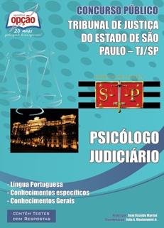 TJ-SP-PSICÓLOGO JUDICIÁRIO-ESCREVENTE TÉCNICO JUDICIÁRIO-ASSISTENTE SOCIAL JUDICIÁRIO