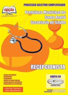 Secretaria de Saúde de Santo André-RECEPCIONISTA