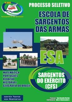 Escola de Sargentos das Armas (ESA)-SARGENTOS DO EXÉRCITO ( CFS )