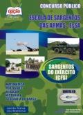 Concurso Exército CFS Curso de Formação de Sargentos ESA 2013