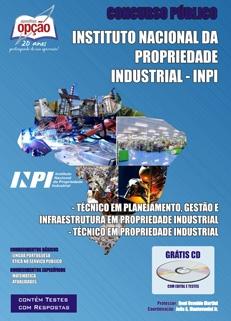 Instituo Nacional da Propriedade Industrial - INPI-TÉC. EM PLANEJAMENTO, GESTÃO E INFRAESTRUTURA / TÉC. EM PROPRIEDADE INDUSTRIAL