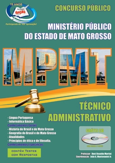 Ministério Público do Mato Grosso-TÉCNICO ADMINISTRATIVO-COMUM AOS CARGOS DE NÍVEL SUPERIOR-AUXILIAR - MOTORISTA
