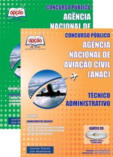 ANAC - Ag. Nacional de Aviação Civil-TÉCNICO ADMINISTRATIVO-ESPECIALISTA EM REGULAÇÃO DE AVIAÇÃO CIVIL-ANALISTA ADMINISTRATIVO
