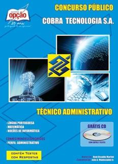 Cobra Tecnologia-TÉCNICO ADMINISTRATIVO