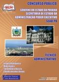 Governo do Estado da Para�ba - SEAD-T�CNICO ADMINISTRATIVO