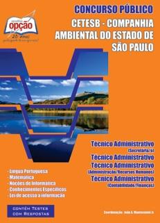 CETESB - Cia Ambiental Estado de São Paulo-TÉCNICO ADMINISTRATIVO-ESCRITURÁRIO-AJUDANTE DE SERVIÇOS GERAIS