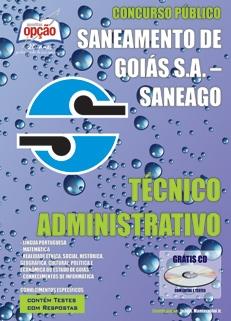 Saneamento de Goiás S.A. (SANEAGO)-TÉCNICO ADMINISTRATIVO-AGENTE ADMINISTRATIVO