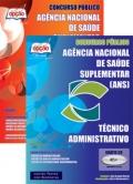Agência Nacional de Saúde Suplementar (ANS)-TÉCNICO ADMINISTRATIVO - JOGO COMPLETO