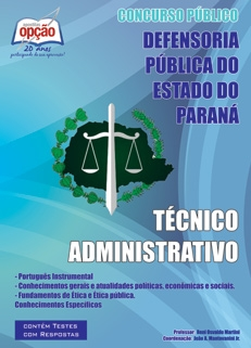 Defensoria do Estado do Paraná-TÉCNICO ADMINSTRATIVO