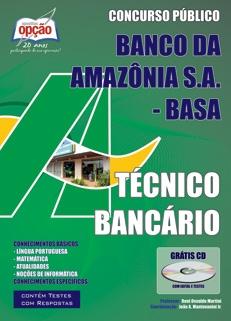 Banco da Amazônia S/A (BASA)-TÉCNICO BANCÁRIO