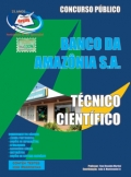 Banco da Amazônia S/A-TÉCNICO CIENTÍFICO-TÉCNICO BANCÁRIO