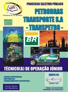 Transpetro - Petrobras Transporte S.A-TÉCNICO DE OPERAÇÃO JÚNIOR-TÉCNICO DE ADMINISTRAÇÃO E CONTROLE JUNIOR