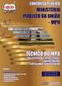 Ministério Público da União (MPU)-TÉCNICO DO MPU - VOLUME I