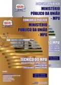 Ministério Público da União (MPU)-TÉCNICO DO MPU - VOLUME I E II