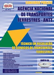 Agência Nacional de Transportes Terrestres (ANTT)-TÉCNICO EM REGULAÇÃO DE SERVIÇOS DE TRANSPORTES TERRESTRES-TÉCNICO ADMINISTRATIVO (VOLUME II)-TÉCNICO ADMINISTRATIVO (VOLUME I)-TÉCNICO ADMINISTRATIVO (JOGO COMPLETO)-ESPECIALISTA EM REGULAÇÃO DE SERVIÇOS DE TRANSPORTES TERRESTRES-ANALISTA ADMINISTRATIVO