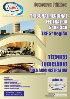 TRF 5º região-TéCNICO JUDICIáRIO ADMINISTRATIVO