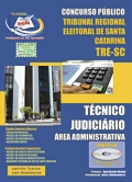TRE / SC-TÉCNICO JUDICIÁRIO - ÁREA ADMINISTRATIVA
