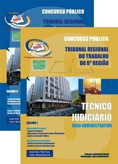 TRT 6ª Região/PE-TÉCNICO JUDICIÁRIO - ÁREA ADMINISTRATIVA