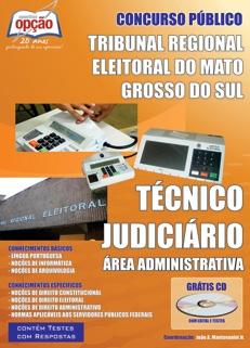 TRE-MS-TÉCNICO JUDICIÁRIO - ÁREA ADMINISTRATIVA