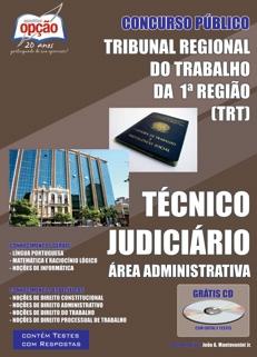 TRT 1ª Região / RJ-TÉCNICO JUDICIÁRIO - ÁREA ADMINISTRATIVA