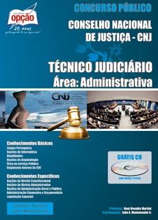 Conselho Nacional de Justiça - CNJ-TÉCNICO JUDICIÁRIO - ÁREA ADMINISTRATIVA-ANALISTA JUDICIÁRIO