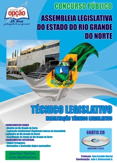 Assembleia Legislativa do Rio Grande do Norte-TÉCNICO LEGISLATIVO (HABILITAÇÃO TÉCNICO LEGISLATIVO)