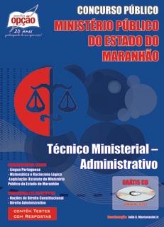 Ministério Público do Maranhão-TÉCNICO MINISTERIAL - ADMINISTRATIVO