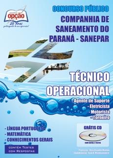 Companhia de Saneamento do Paraná - SANEPAR-TÉCNICO OPERACIONAL
