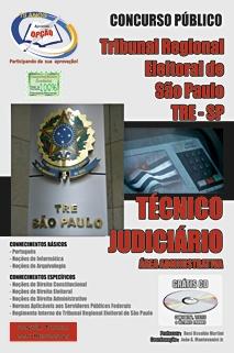 TRE-SP-TRE/SP - TÉCNICO JUDICIÁRIO - ÁREA ADMINISTRATIVA-ANALISTA JUDICIÁRIO - ÁREA JUDICIÁRIA-ANALISTA JUDICIÁRIO - ÁREA ADMINISTRATIVA