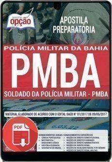 SOLDADO DA POLÍCIA MILITAR - PMBA