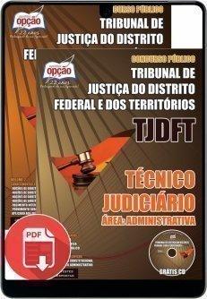 TÉCNICO JUDICIÁRIO – ÁREA: ADMINISTRATIVA