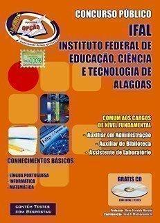Apostila Comum Aos Cargos De Nivel Fundamental - Concurso Ifal / Al...