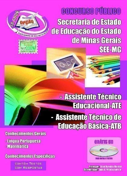 Apostila Assistente Técnico Educacional - Ate  E Assistente Técnico De Educaç...