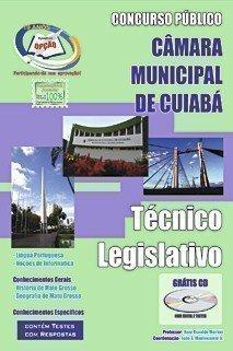 Apostila Técnico Legislativo - Concurso Prefeitura De Cuiabá / Mt...