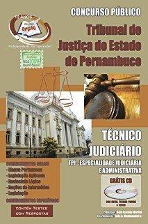 Apostila Técnico Judiciário - Concurso Tribunal De Justiça Do Estado / Pe...