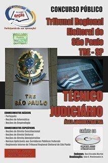 Apostila Tre/sp - Técnico Judiciário - área Administrativa - Concurso Tribuna...