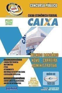 Apostila Técnico Bancário Novo - Concurso Caixa Econômica Federal...