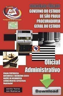 Apostila Oficial Administrativo - Concurso Procuradoria Geral Do Estado / SP...