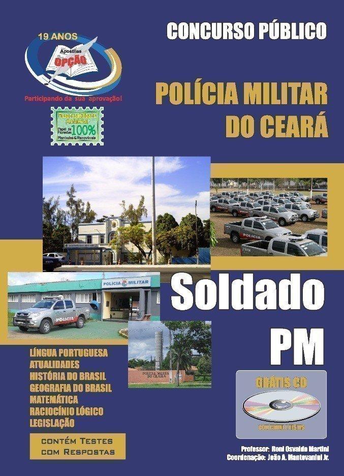 Apostila Pm/ce-soldado - Concurso Polícia Militar / Ce