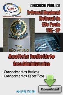 Apostila Analista Judiciário - área Administrativa - Concurso Tribunal Regiona...