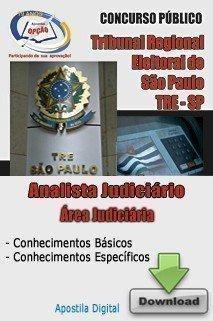 Apostila Analista Judiciário - área Judiciária - Concurso Tribunal Regional E...
