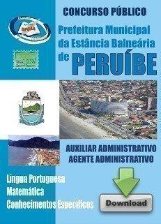 Apostila Auxiliar Administrativo / Agente Administrativo - Concurso Prefeitura D...